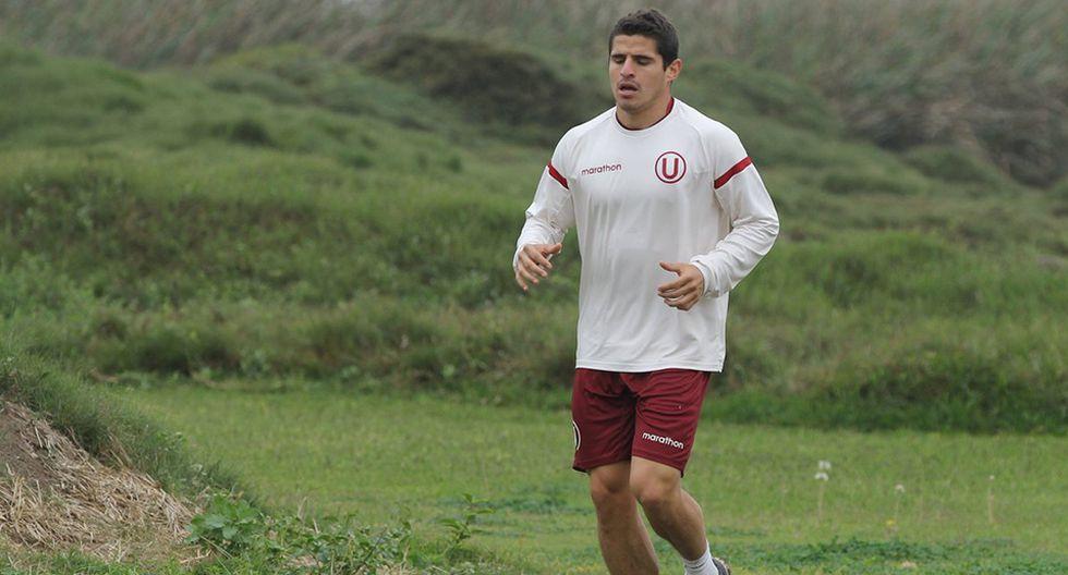 Aldo Corzo se unió a los entrenamientos de Universitario de Deportes.(Universitario)