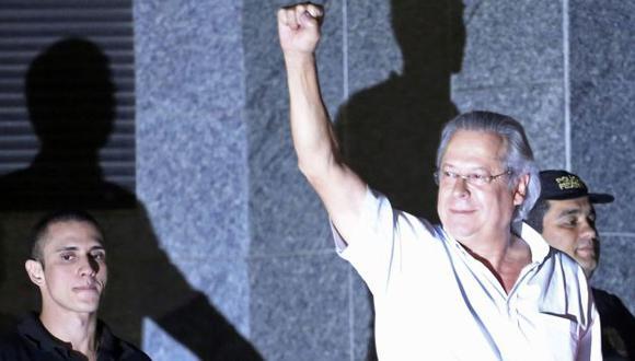 Jose Dirceu también se entregó a las autoridades. (Reuters)