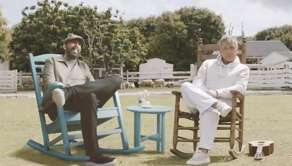 """Juan Luis señaló que trabajar con """"Ricardo (Montaner) siempre es de mucha alegría. Transmite gozo, como si todos los días para él fueran de fiesta"""". (Foto: Ricardo Montaner)"""