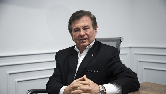 Conversamos con el abogado y directivo del Rotary Club, Julio César Silva Santisteban. (Perú21/ Eduardo Cavero)
