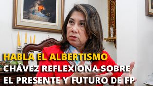Martha Chávez: reflexiona sobre el presente y futuro del fujimorismo
