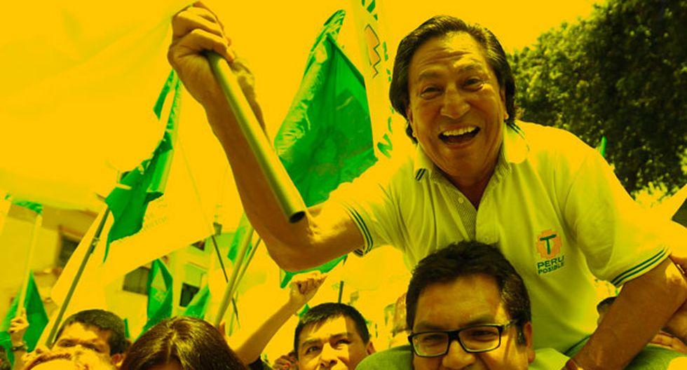 Alejandro Toledo, cuando Perú Posible aún era un partido viable. (Anthony Niño de Guzmán)