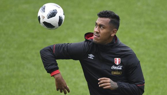 Renato Tapia inició la etapa de recuperación (Foto: AFP).