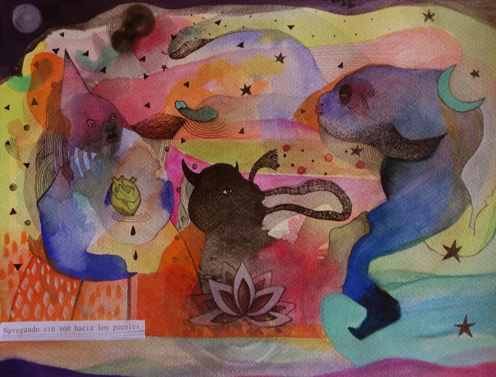 Obra de Alexandra Wendorff. (Difusión)