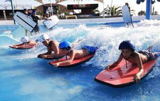 Flowboarding: la primera ola artificial ya está en el país