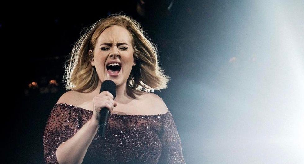 Adele sorprende a fans con aspecto físico en el after party del Oscar 2020. (Foto: AFP)