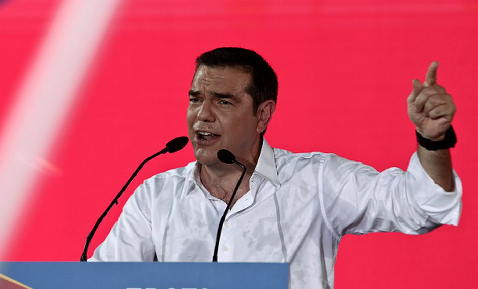 De Tsipras a tsitsipas. (Getty)