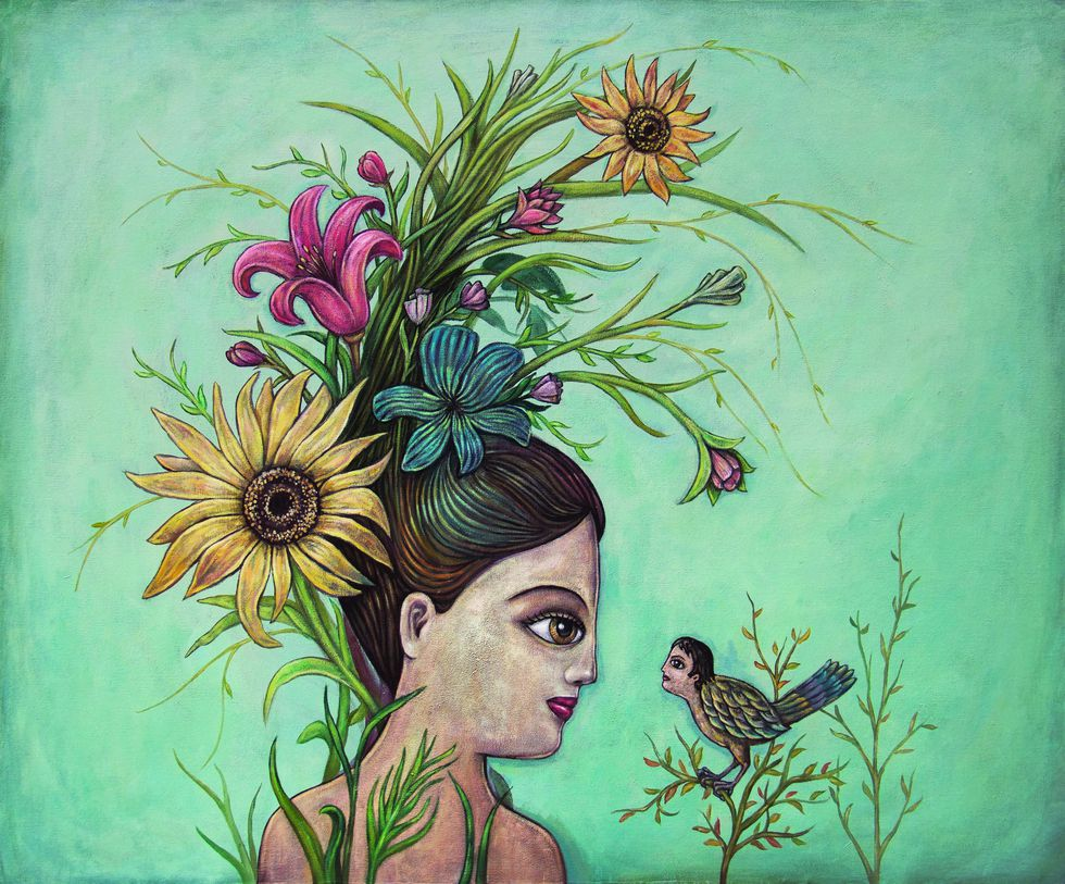 Pintura 'Encuentro'.