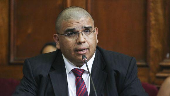 Fernando Castañeda, ministro de Justicia, señaló que en la sesión también se abordará el tema de la pandemia. (Foto: GEC)
