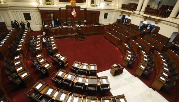 Dictamen ahora deberá pasar al pleno del Congreso, que definirá finalmente su viabilidad o no. (Foto: Mario Zapata / GEC)