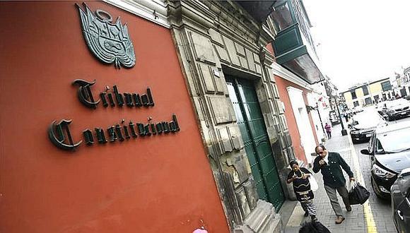 Ponencia del magistrado Carlos Ramos sobre la demanda competencial fue publicada en la web del Tribunal Constitucional (GEC).