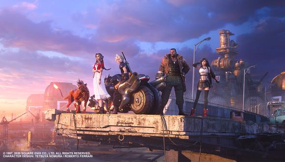 Final Fantasy VII Remake se lanza este 10 de abril para PS4. (Imagen: Final Fantasy VII / Twittter)