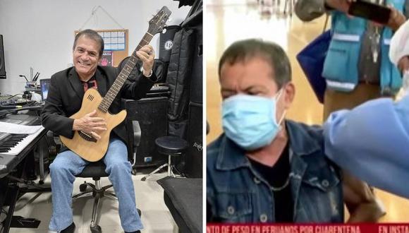 Miguel 'Chato' Barraza se mostró feliz por haberse vacunado contra el coronavirus. (Foto: Instagram / @miguelitobarrazaoficial / Captura Latina).