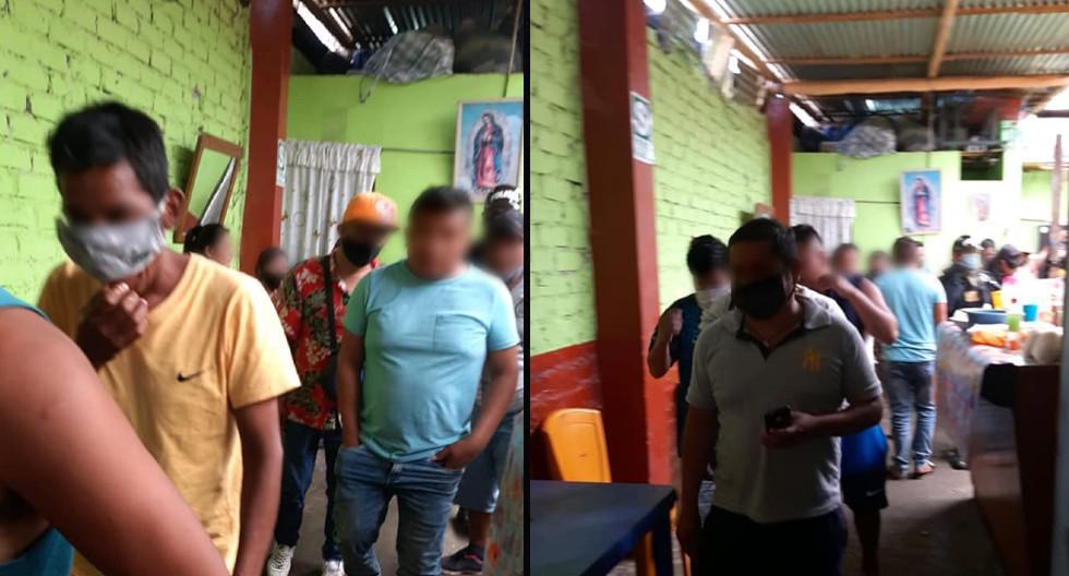 Sesenta personas caen tomando alcohol en bar sin temor a contagiarse de COVID-19 en Piura