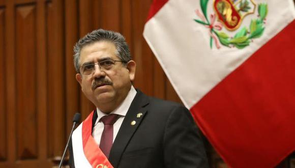 Manuel Merino aseguró que respetará la labor que desempeña la Sunedu en el marco de su compromiso con la educación. (Foto: Congreso)