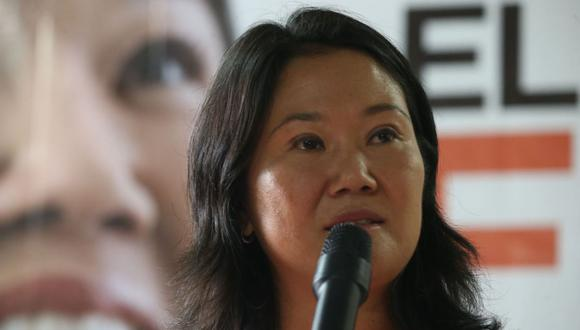 Keiko Fujimori es parte de una investigación por presunto lavado de activos por pagos de Odebrecht. (@photo.gec)