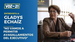 """Gladys Echaíz: """"No vamos a permitir avasallamientos del Ejecutivo"""""""