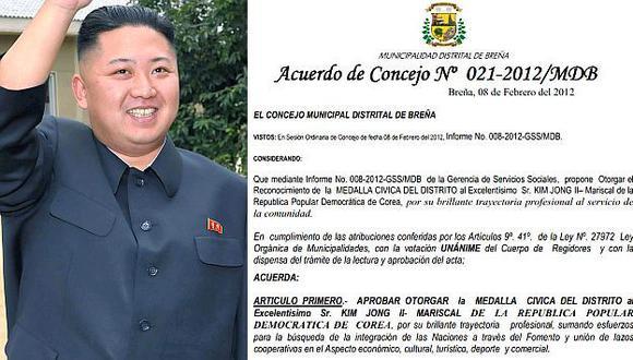 (Reuters/Municipalidad de Breña)