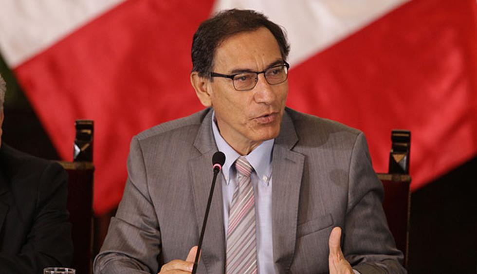 Presidente Martín Vizcarra pidió al Congreso debatir cuanto antes proyecto de ley para declarar en emergencia el Ministerio Público. (Foto: GEC)