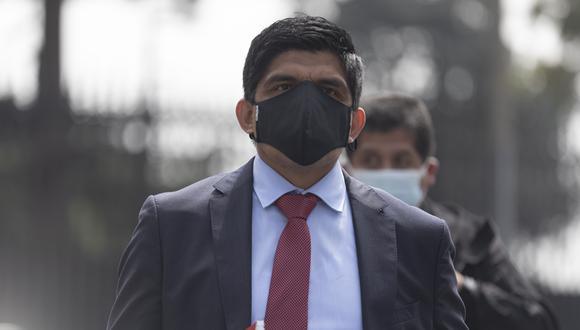 El ministro del Interior, Juan Carrasco Millones, deberá responder por irregular custodia policial a Vladimir Cerrón. (Foto: archivo GEC)