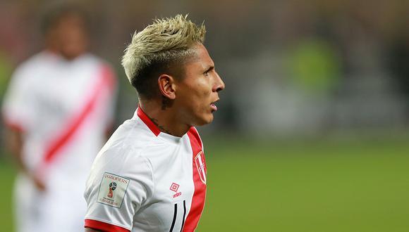 Raúl Ruidíaz sufrió golpe en el tobillo derecho, pero el médico de la Selección asegura que no es de consideración. (Foto: El Comercio)