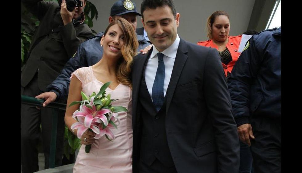 Delly Madrid contrajo nupcias con el empresario español Antón Alba. (Perú.com)