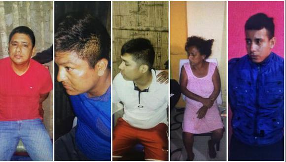 Policía desarticula peligrosa banda 'Los perro flaco' en Tumbes. (Ministerio del Interior)