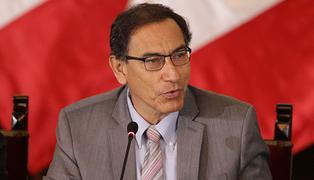Aprobación de Martín Vizcarra cayó 7 puntos