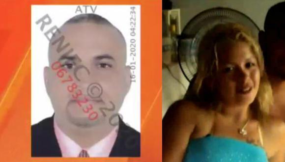 Julio César Rojas Mogollón se encuentra libre y familia de la víctima teme por su vida. (ATV/América TV)