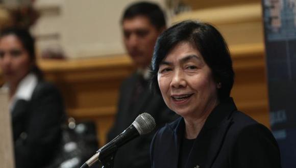 Magdalena Chú formuló sus propuestas ante la Comisión de Constitución del Congreso. (USI)