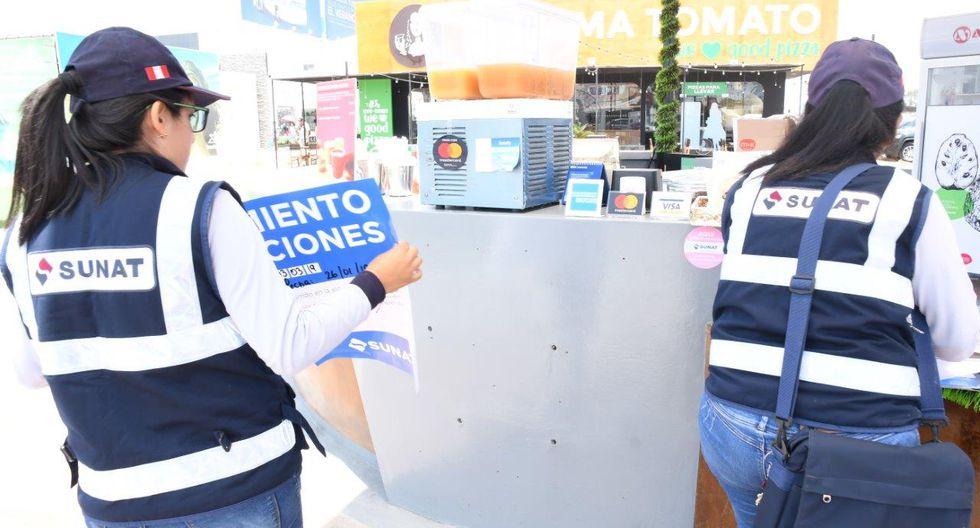 Sunat verificó que el 45% de los establecimientos no cumplía con la entrega de comprobantes de pago, por lo que este fin de semana se iniciaron las acciones de cierre temporal. (Foto: Sunat)