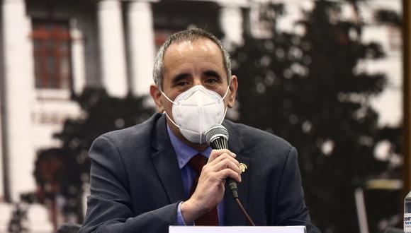 El congresista Ricardo Burga indicó que la intención de Acción Popular no era vacar al presidente Martín Vizcarra. (Foto: GEC)