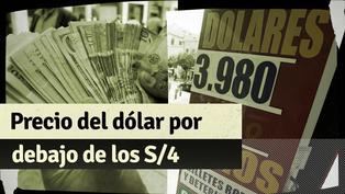 Tipo de cambio por debajo de los S/4: ¿A qué se debe la caída en el precio del dólar en el Perú?