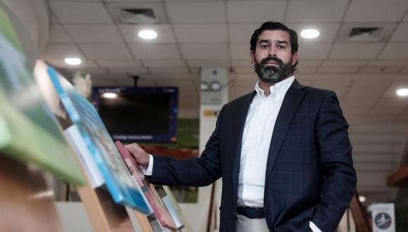 Javier León, gerente de Asuntos Corporativos y Comunicación Externa de Nestlé para Perú y Bolivia. (FOTO: ÁNGELA PONCE)
