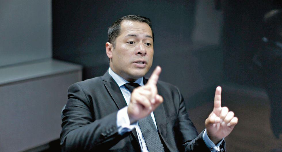 Christian Salas. Ex procurador anticorrupción. (Perú21)