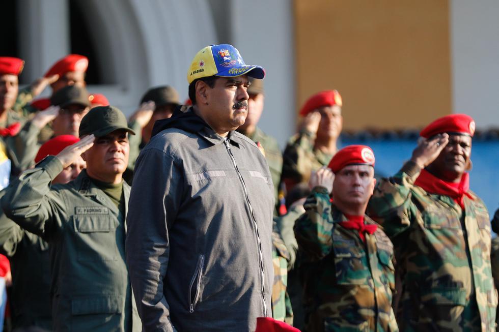 Estados Unidos sancionó a funcionarios cercanos al presidente Nicolás Maduro, por la represión de la democracia e incurrir en hechos significativos de corrupción y fraude contra el pueblo de Venezuela. (Foto: EFE)