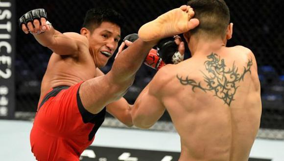 Barzola quiere salir victorioso de su combate. (UFC)