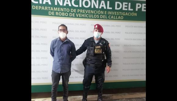 Presunto miembro de la banda de asaltantes fue detenido tras una persecución en Bellavista. (Foto: Policía Nacional)