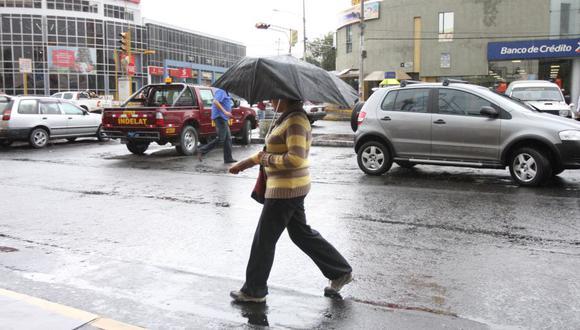 Lluvias en el norte se prolongarían hasta esta noche,  informó el Senamhi(USI/Referencial)