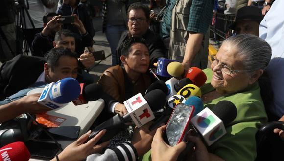 Madre del Chapo Guzmán obtuvo visa humanitaria para visitar a su hijo en Estados Unidos. (Foto: EFE)