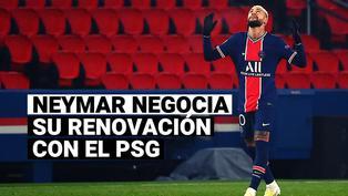 Neymar se adelanta en las negociaciones para renovar con el PSG