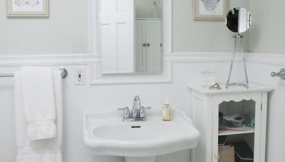El lavabo puede tener un diseño atractivo que tenga función de aumento. (USI)