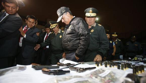 Urresti recibió el respaldo del presidente Ollanta Humala. (Perú21)