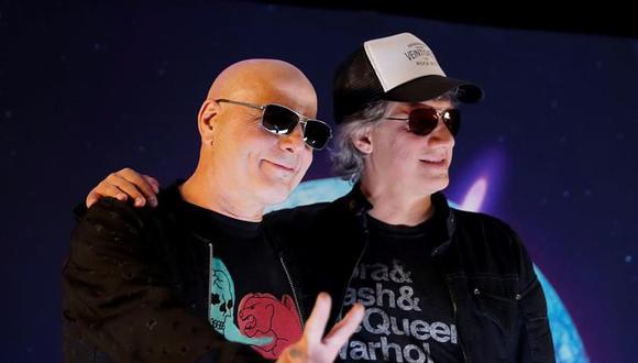 Soda Stereo anuncia su regreso a los escenarios con Chris Martin y Juanes como invitadas. (Foto: EFE)