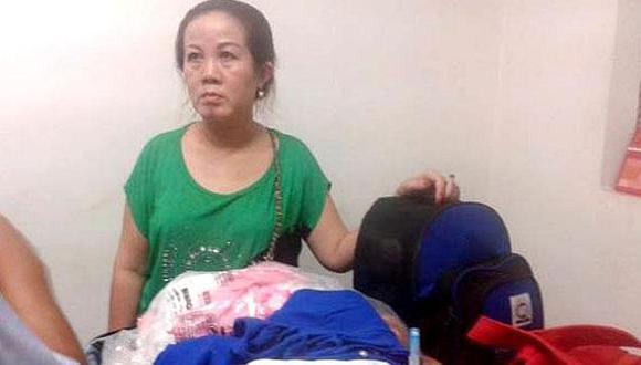 Ciudadana vietnamita llevaba droga en su maleta. (Juan Nunura)