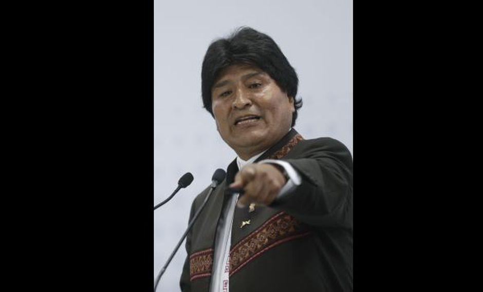Evo Morales, presidente de Bolivia (AP).