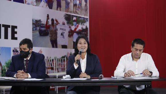 Fiscal Pérez sostiene que Fujimori incumplió reglas impuestas. (GEC)