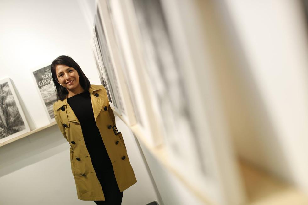 Claudia Coca expone en la Sala Luis Miró Quesada Garland y en la Galería del Paseo. (Mario Zapata)