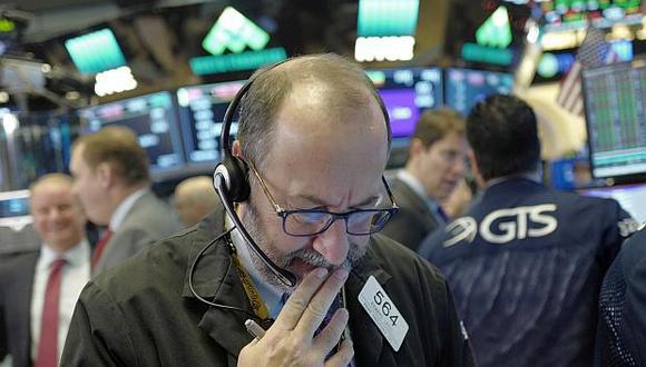 Wall Street comenzó la sesión de este miércoles con un ligero descenso. (Foto: AP)