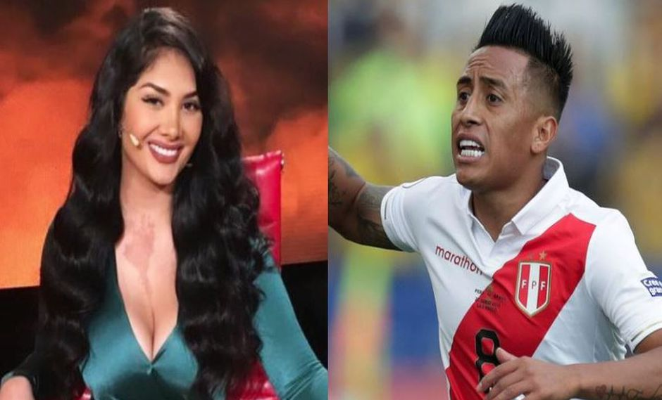 Futbolista Christian Cueva negó haber sostenido un 'affaire' con Chris Soifer, la hermana mayor de Michelle Soifer. | Composición